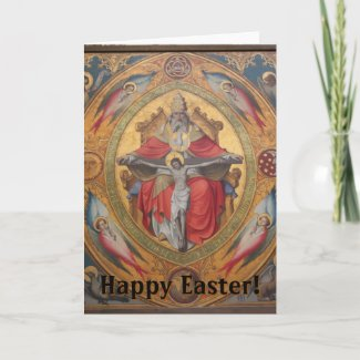 Happy Easter! Altar of the Poor Clares Holiday Card