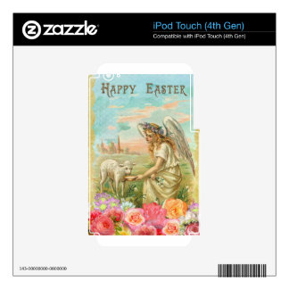 happy easter angel iPod touch 4G decals