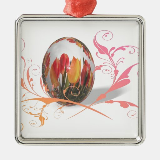 Happy Easter Artistic Christmas Ornaments