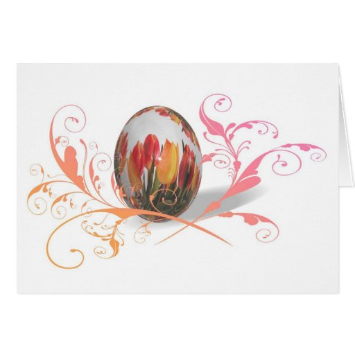 Happy Easter Artistic Greeting Card