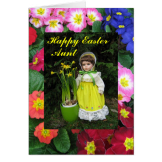 Happy Easter Aunt Card