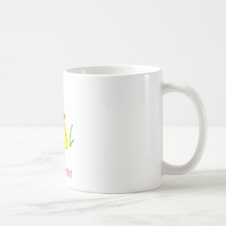 Happy Easter! (Baby Chick) Classic White Coffee Mug