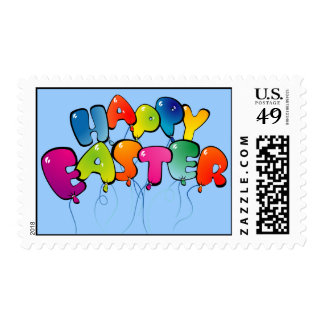 Happy Easter Balloons Postage