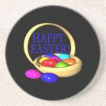 Happy Easter Basket Coasters