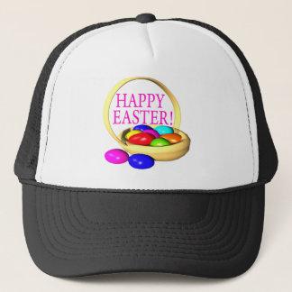 Happy Easter Basket Trucker Hat