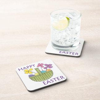 Happy Easter Beverage Coaster