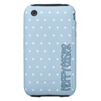 Happy Easter blue iPhone 3G 3GS Case-Mate Tough Tough iPhone 3 Cover