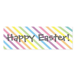 Happy Easter!   Bookmark Double-Sided Mini Business Cards (Pack Of 20)
