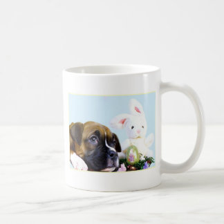 Happy Easter Boxer puppy mug