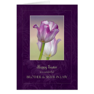 Happy Easter Brother & Sister in Law Card