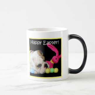 Happy Easter Bulldog mug