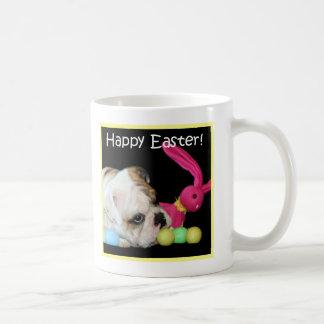 Happy Easter Bulldog mug