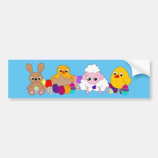 Happy Easter! Bumper Sticker