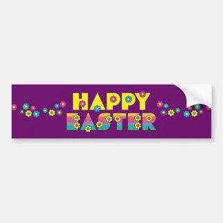 Happy Easter Car Bumper Sticker