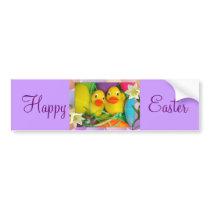 Happy Easter_ Bumper Sticker