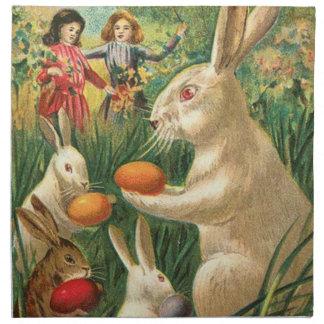 Happy Easter Bunnies American MoJo Napkin