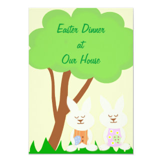 Easter Dinner Invitations & Announcements | Zazzle