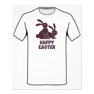 Happy Easter Bunnies Flyer