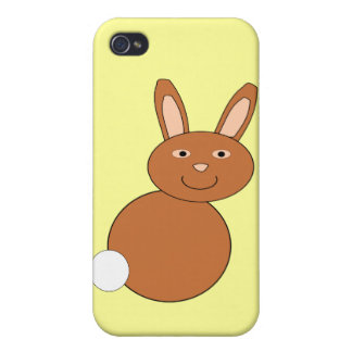 Happy Easter Bunny 4 C Cover For iPhone 4