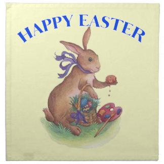 Happy easter bunny American MoJo Napkin