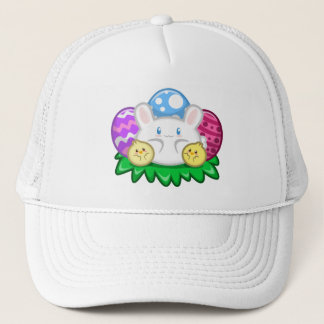 Happy Easter: Bunny and Chicks Hat