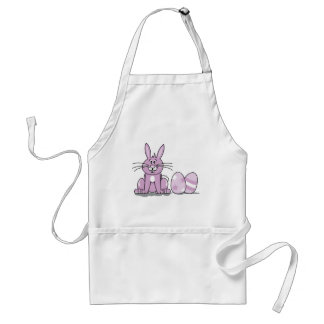 Happy Easter Bunny Aprons