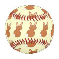 Happy Easter Bunny Baseball