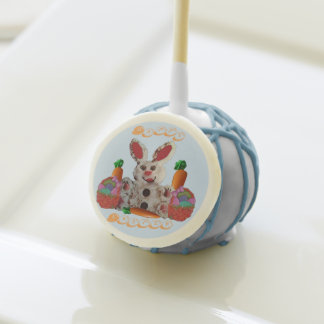 Happy Easter Bunny Cake Pops