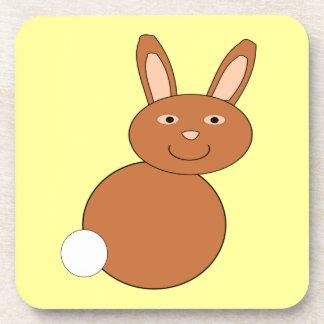 Happy Easter Bunny Coaster