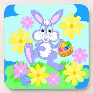 Happy Easter Bunny Coasters