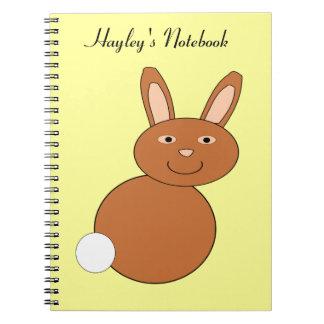 Happy Easter Bunny Customizable Noteb Notebooks