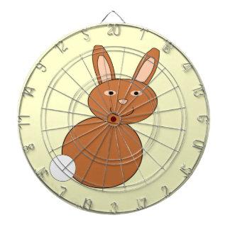 Happy Easter Bunny Dart Board