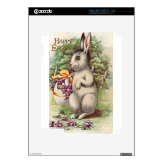 Happy Easter Bunny Decal For The iPad 2