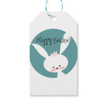 Happy Easter Bunny Design. Gift Tags