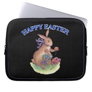Happy easter bunny Electronics Sleeve Computer Sleeves