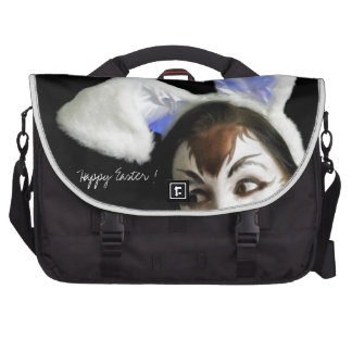 Happy Easter Bunny Laptop Commuter Bag