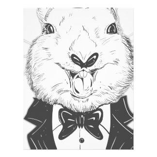 Happy Easter Bunny Letterhead