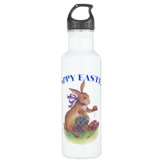 Happy easter bunny Liberty Bottle 24oz Water Bottle