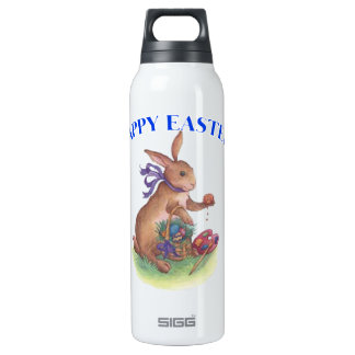 Happy easter bunny Liberty Bottle 16 Oz Insulated SIGG Thermos Water Bottle