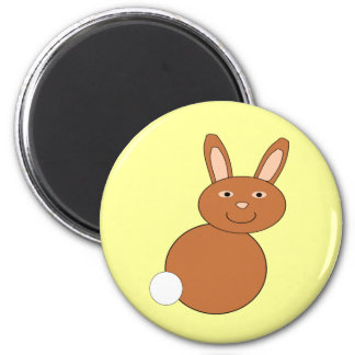 Happy Easter Bunny Magnet