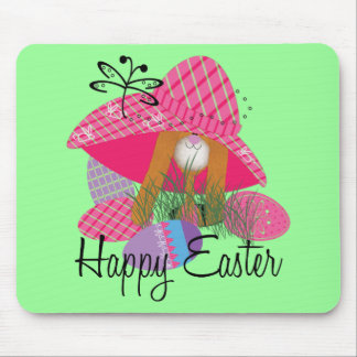 Happy Easter Bunny Mouse Pads
