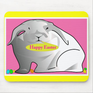 Happy Easter Bunny Mousepads