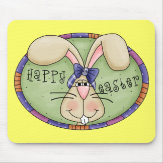 Happy Easter Bunny Mouse Mats
