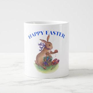 Happy easter bunny Mug Extra Large Mug