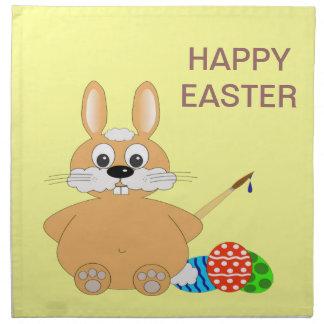 Happy Easter Bunny Napkins