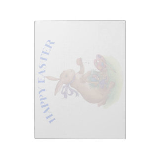Happy easter bunny Notepad