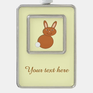 Happy Easter Bunny Personalized Ornament
