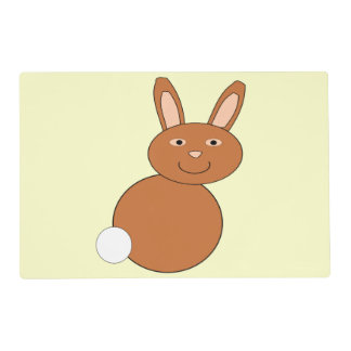 Happy Easter Bunny Personalized Paper Placemat