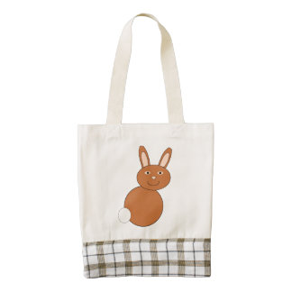 Happy Easter Bunny Personalized Tote Bag