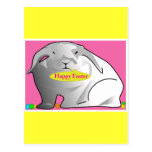 Happy Easter Bunny Post Cards